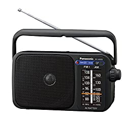poste de radio fm Panasonic RF-2400DEG-K