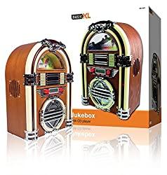 Juke-Box BXL-JB10  avec radio AM/FM/ et lecteur CD par BasicXL