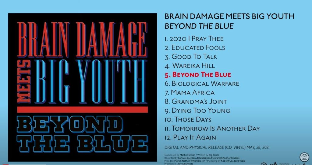 Brain Damage meets Big Youth : Beyond The Blue