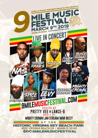 Win free tickets to 9 Mile Music Festival 2019 - Reggae
