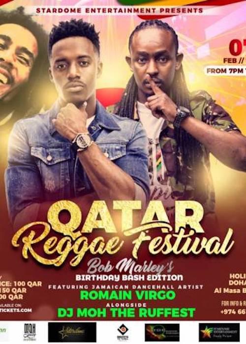 Qatar Reggae Festival 2019 Reggaeville Com