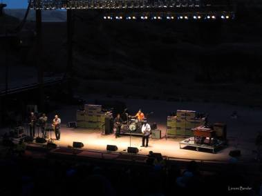 Red Rocks festival performance