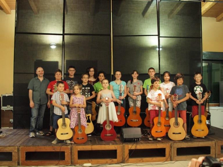 allievi di chitarra scuola RGS