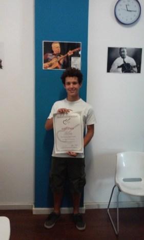 Lorenzo Schiatti 3° (Chitarra Elettrica)