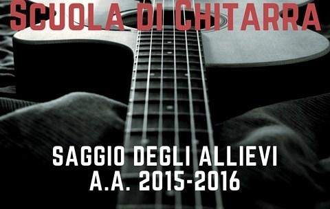 Saggio di chitarra (2015-16) Reggio Emilia