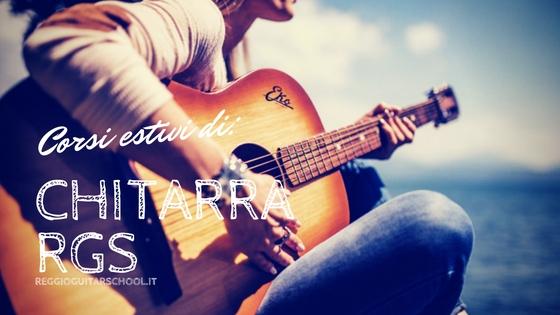 corsi estivi di chitarra a reggio emilia