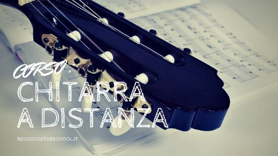 Corso di chitarra a distanza