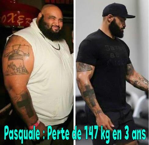 Pasquale avant apres musculation
