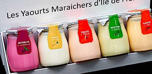 yaourt aux légumes