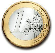1 euro tout rond !