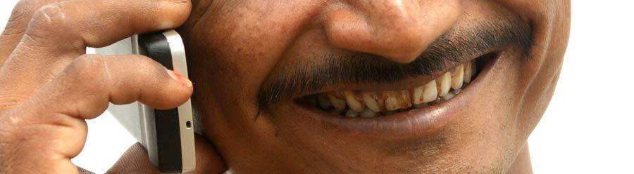 Dents jaunies