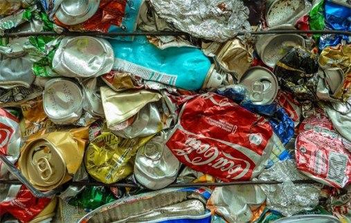 Sodas à la poubelle