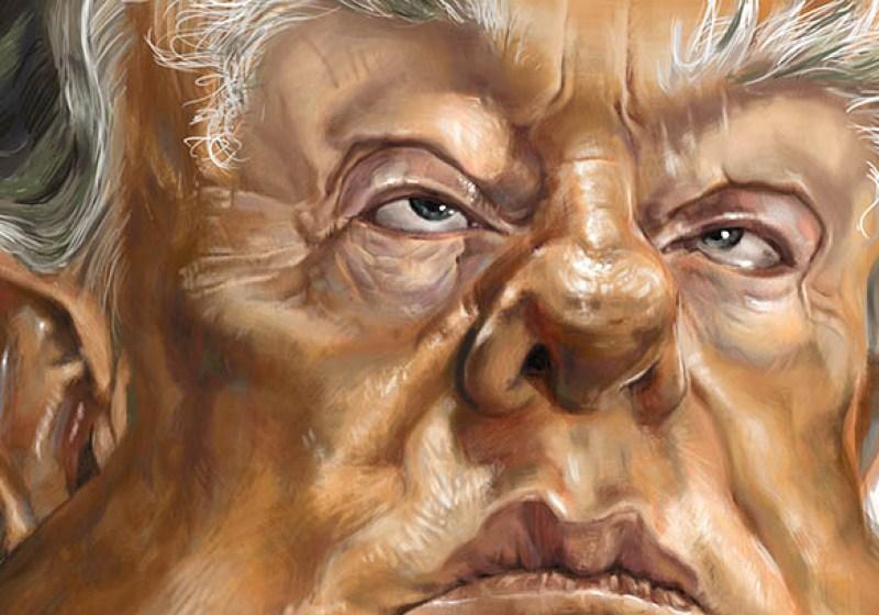 Karikatur Donald Trump, Regina Vetter