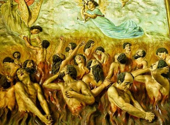 il santo rosario aiuta il purgatorio a svuotarsi