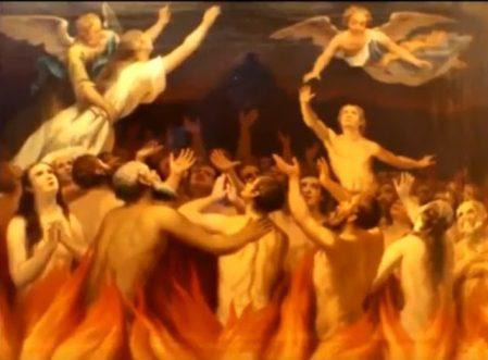 il rosario e le anime del purgatorio