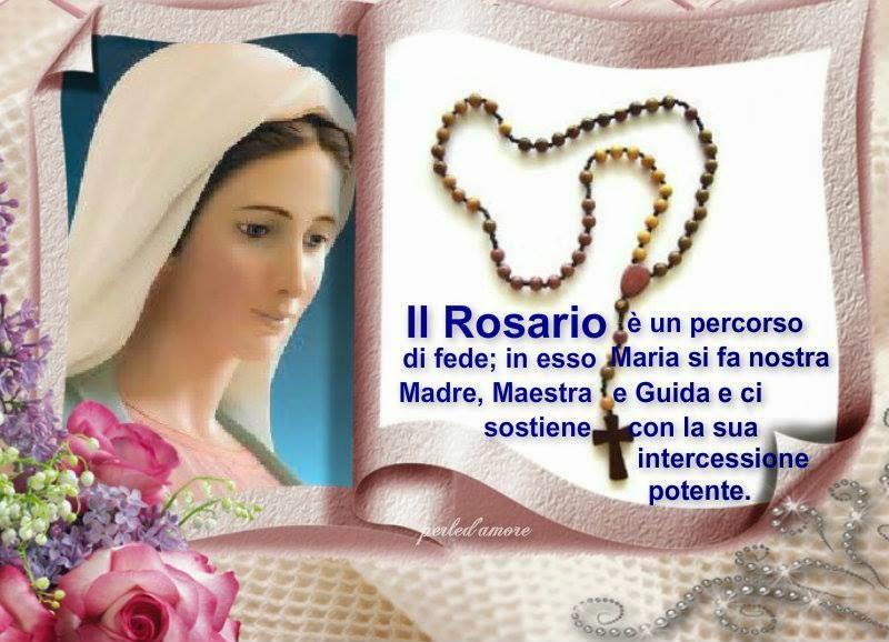 come si medita il rosario