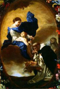 Bernardo Cavallino, Visione di San Domenico, 1640