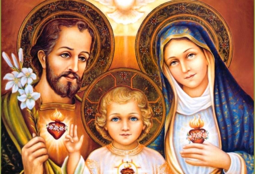 cuori di Gesù Maria e Giuseppe