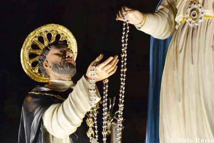 nascita del santo rosario
