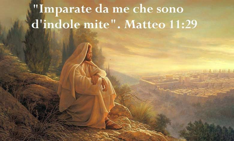 Gesù vuole che tu sia una persona mite