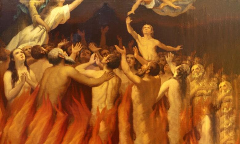in purgatorio si soffre molto