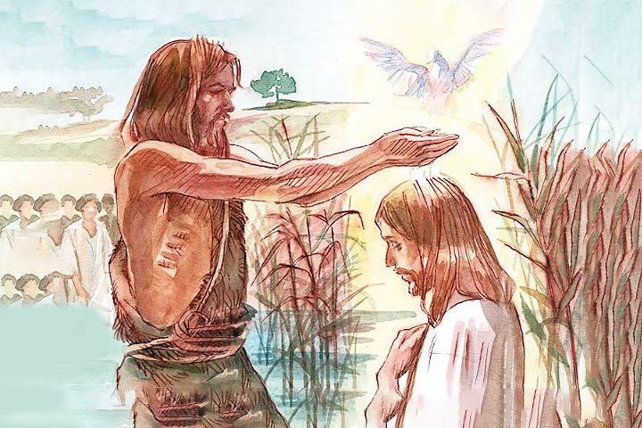 Sesto sabato alla Regina del Santo Rosario: Gesù è battezzato nel Giordano