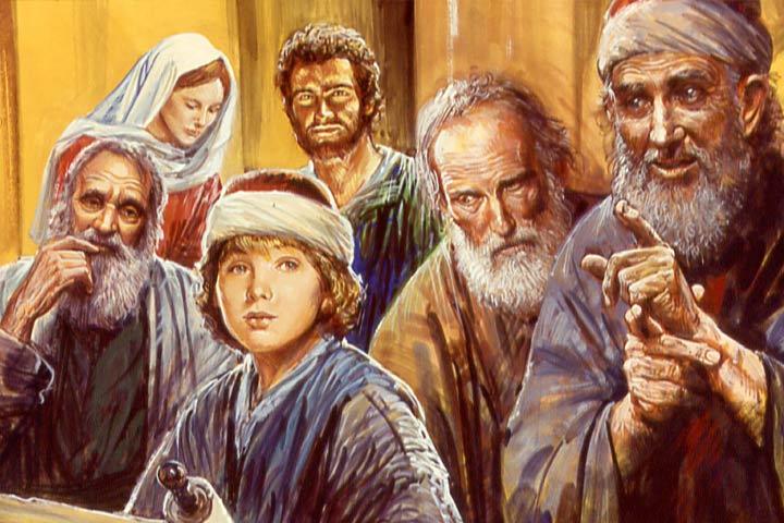 Gesù insegna ai dottori nel tempio