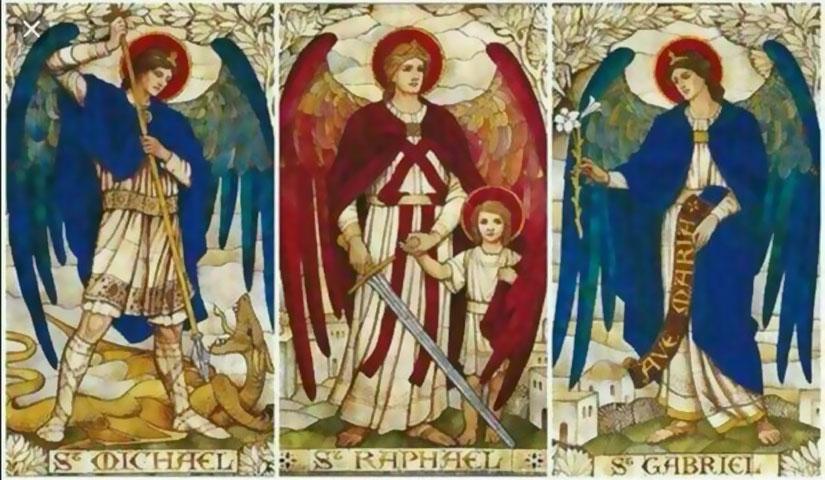 tre arcangeli