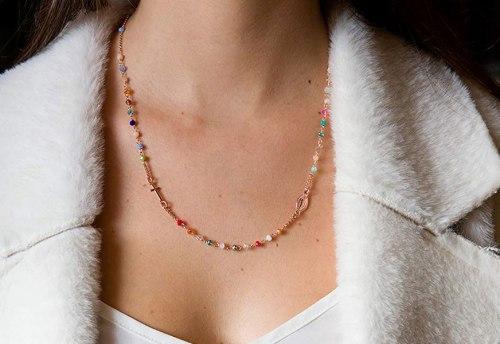collana donna rosario giracollo