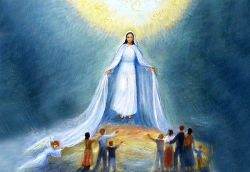 maria intercede per i suoi figli