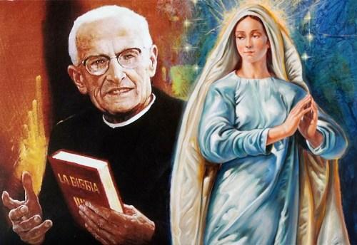 Alla Santissima Trinità che opera per mezzo di Maria
