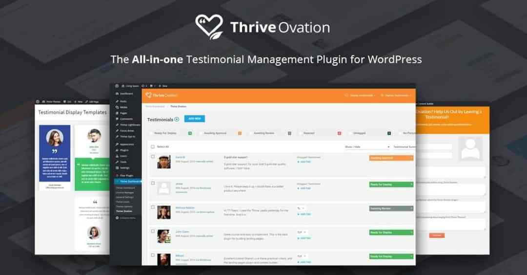 Thrive_Ovation_Thrive_Membership_review Thrive Themes Membership Review 2018 Blog Blogging Tips Reviews Tools WordPress
