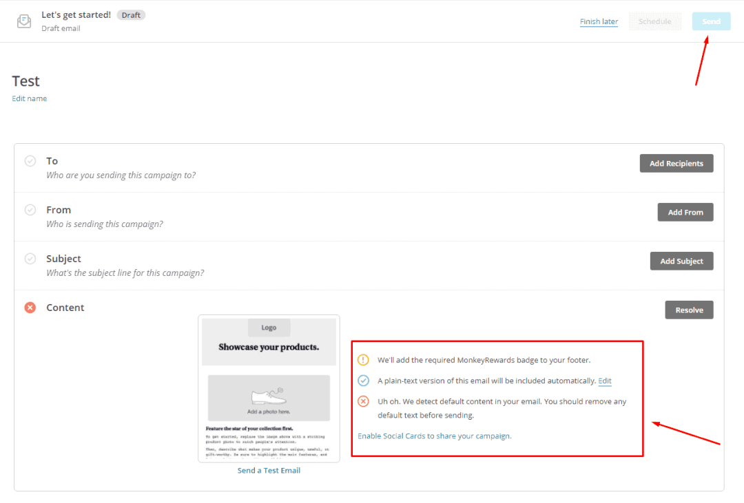 how to add emails to mailchimp