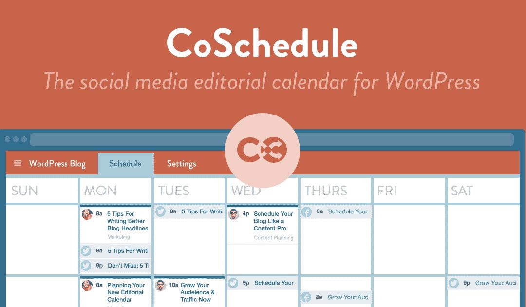 CoSchedule Review: The Best Online Marketing Calendar