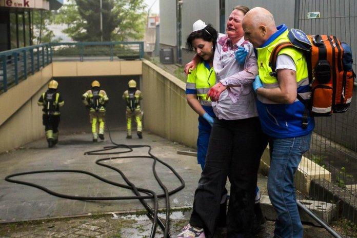 10mei2016_Brandweer oefening Vreelandseweg Hilversum_6491
