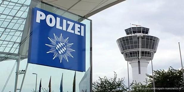 Flughafen München - Polizei