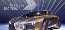 Visionsfahrzeug BMW Vision Next 100