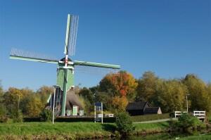 Oost Molen in Gorinchem Regionaal Uitgelicht