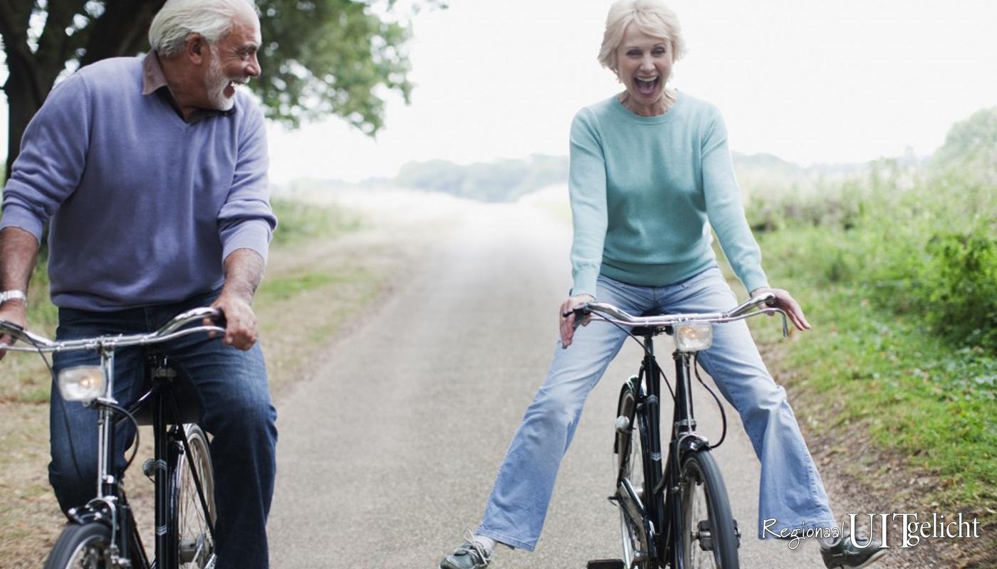 Elke 2e donderdag van de maand organiseert de 60+ soos een fietstocht voor 60-plussers.