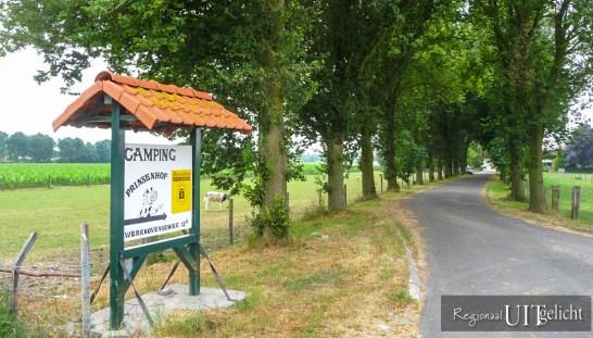Camping de Prinsenhof in Odijk - Bed and breakfast
