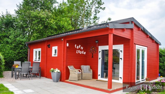 Camping de Prinsenhof in Odijk - Bed and breakfast