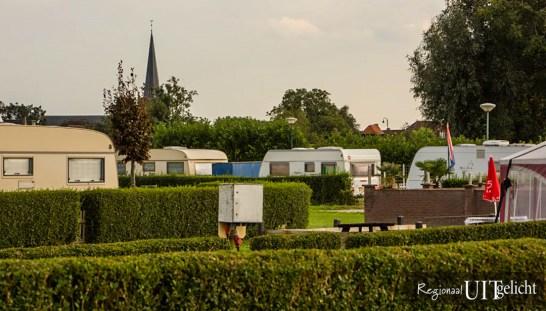 Camping de Uiterwaard in Lexmond