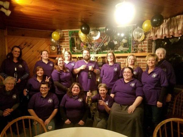 Cheers from our volunteers!