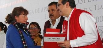 PROSPERA BENEFICIA A 66 MIL FAMILIAS TLAXCALTECAS: MARCO MENA