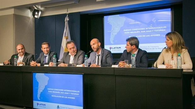 Como fue anunciado, San Juan conectará con Chile vía aérea