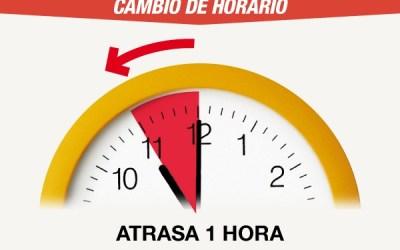 ¡Importante! Por el horario de invierno, Argentina y Chile ya no tendrán la misma hora