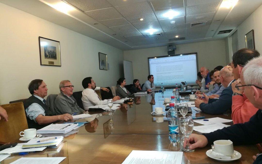 EBITAN revisa procesos de precalificación y bases de licitación del Túnel de Agua Negra