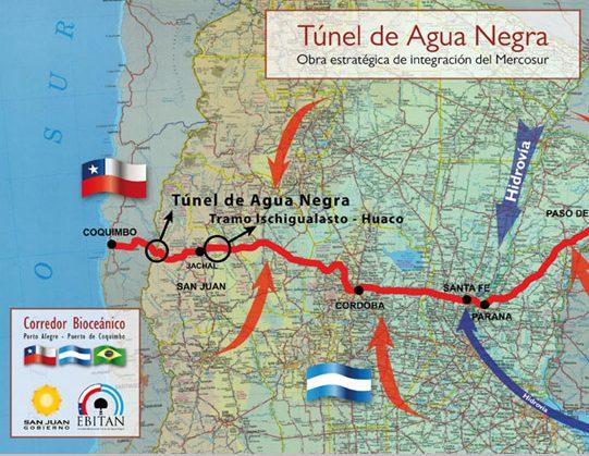 """""""El Túnel de Agua Negra es política de estado en Chile y Argentina"""""""