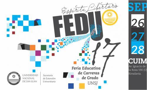 Feria para conocer las carreras de Grado de la Universidad Nacional de San Juan
