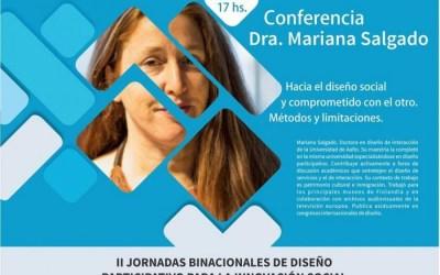 Especialista disertará sobre diseño social en las jornadas binacionales